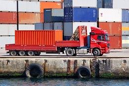 Cargo container transportation